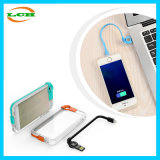 Creative Data Line and Flash Light up Mobile Phone Case