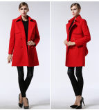 Factory Wholesale Autumn Europe Fashion Women's Coat