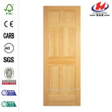 30 in. X 80 in. Clear Pine Single Prehung Door
