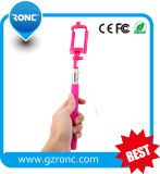 2015 Cheap Mini Wired Monopod Cable Selfie Stick