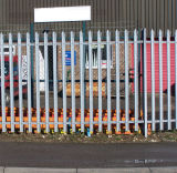 Galvanized W Head Type Palisade Fence for Security