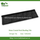 Steel Roof Tile with Stone Chips Coated (shingle tile)