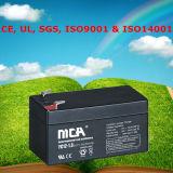 Good Quality Small Size Battery 12V Lead Acid Battery 1.3ah
