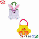 Yellow Duck and Rabbit Cute Baby Plush Soft Bag