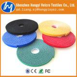 Colorful 100% Nylon Elastic Hook & Loop Velcro Band for Furniture