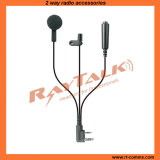 3-Wire Earbud Earpiece Surveillance Kits for Two Way Radios (EM-100140)