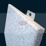 Light White Color Stone Like Aluminum Honeycomb Panel