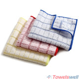 Absorbent Quick-Drying Checkered Kitchen Dish Towel