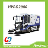 Electric Road Street Cleaning Sweeper Truck