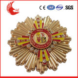 Wholesale Cheap Custom High Grade Metal Engraved Badge