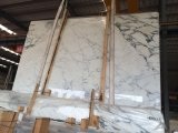 Wholesale Decoration Material Polished Calacatta Gold White Marble Slab