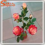 Wedding Decorative Artificial Real Touch PU Silk Flower