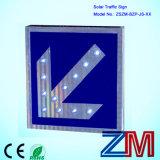 High Brightness Aluminum Made Solar Traffic Sign / Flashing Road Sign