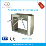 Durable Semi-Automatic 304 Stainless Steel RFID Card Tripod Turnstile Gate