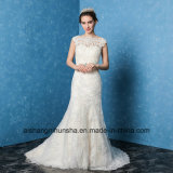 Sexy Backless Wedding Dress Applique Embroidery Elegant Wedding Gown