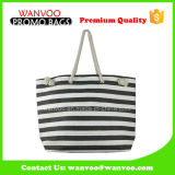 China Factory Canvas Tote Bag with Jute Rope Handle