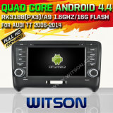 Witson Android 4.4 System Car DVD for Audi Tt (W2-A6525)