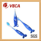 Smiling Face Handle/Standing up Handle Kids Toothbrush/OEM Toothbrush Factory