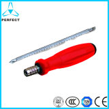 Precision Steel Handle Ratchet Screwdriver