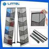 8*A4 Net Shape Literature Rack Folding Magazine Stand (LT-05A)