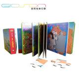 Cartoon Printing Hardback Book/ Casebound Puzzle Book