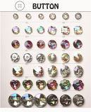 Ladies Button for Special-Shaped Fashion Button Acrylic Button