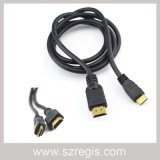 Male to Male Coaxial Adapter HDMI to Mini HDMI Cable