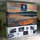 8FT Straight Tension Fabric Pop-up Banner Display Stand (Frame & Graphic)
