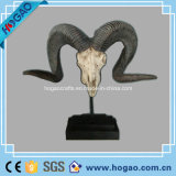 Polyresin Antique Sheep Head Handicraft Home Decoration