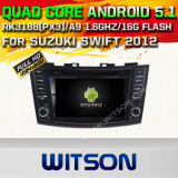 Witson Android 5.1 Car DVD GPS for Suzuki Swift 2012 with Chipset 1080P 16g ROM WiFi 3G Internet DVR Support (A5796)