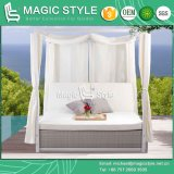 Angel II Daybed Wicker Daybed Rattan Double-Bed Patio 2-Seater Bed SGS Daybed (MAGIC STYLE)