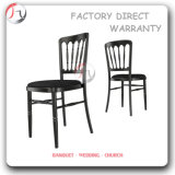Black Coloured Stacking Designing Hot Sale Furnitures (AT-165)