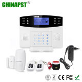 Quadband LCD Display Wireless Home Security GSM Alarm (PST-GA997CQN)