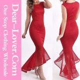 Women Casual Red Evening Prom Cocktail Party Dresses