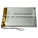 Rechargeable Li-Polymer Lithium Battery for Personal Treatment System (820mAh)