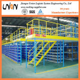 Warehouse Save Space Iron Storag Mezzanine Floor Rack