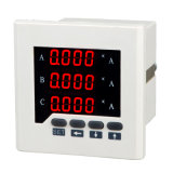 Three-Phase AC Current Meter Digital Ammeter LED Three Row Display