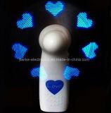 Light up LED Flashing Letter Fan (3509)