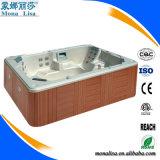 Guangzhou Monalisa 6 People Outdoor Square Big Bath Tub