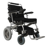 Portable Lightweight Brushless Folding Power Wheelchair Electric Wheelchair with LiFePO4 Battery