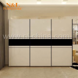 N&L Modern Sliding Door Wardrobe with Hang Cabinet