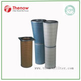 Cellulose Air Filter Cartridge for Gas Turbine Intake Air