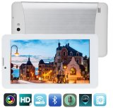 7.0 Inch Tablet PC with Mtk6572 Dual-Core 3G Card Cortex A7 White Touch Screen