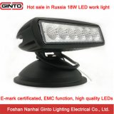 High Quality 18W 6′′ E-MARK Offroad LED Work Light (GT1012-18W)