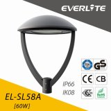 Everlite 60W LED Garden Lamp with ENEC Ce CB GS Class II