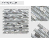 High Standard Wholesale Interior Strip Glass&Metal Mosaic Tile for Decoration