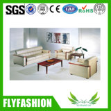 Modern Leather Office Sofa Set (OF-12)