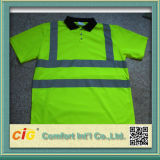 High Visibility Safety Polo T-Shirt