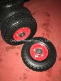 China 350-4 PU Foam Wheelbarrow Wheel
