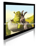 3D Silver Fixed Frame Screen/3D Projection Screen/Silver Screen/High Quaity Fixed Frame Screen with 10 Cm Frame
